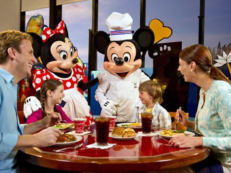 cena con mickey