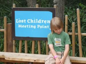 niño perdido