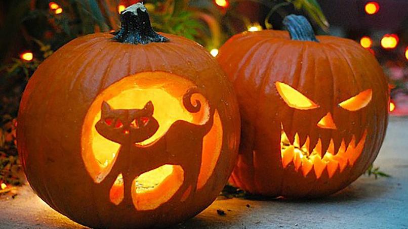 Halloween somos orlando - Plantillas para decorar calabazas halloween ...